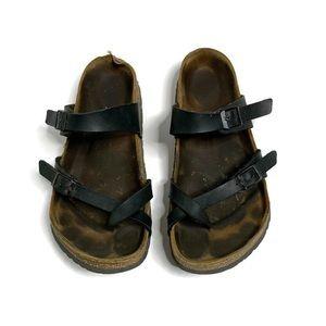 Birkenstock Mayari Black Slip On Sandals